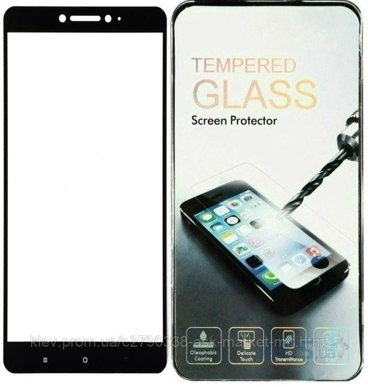 Защитное стекло Xiaomi Mi Max BeCover Черный На весь экран