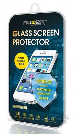 Защитное стекло Lenovo Vibe C A2020 Auzer Углы закругленные, фото 2