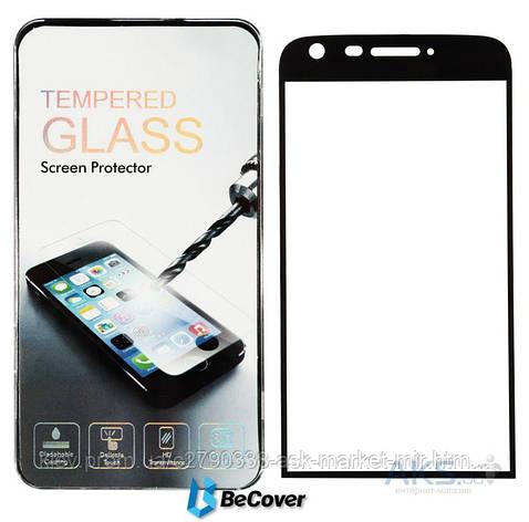 Защитное стекло LG G5 H850, G5 SE H845|BeCover|Черный|Углы закругленные|На весь экран, фото 2