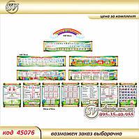 Набор стендов для начальных классов