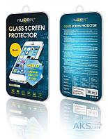 Защитное стекло Samsung A700 Galaxy A7|Auzer|Углы закругленные|