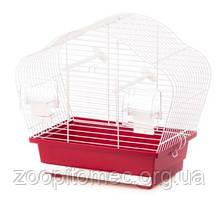 Клетка для мелких птиц BETA MINI INTER ZOO (ИнтерЗоо) хром, 36,5*20*34 см