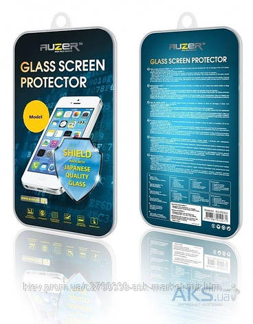 Защитное стекло Samsung i9190 Galaxy S4 mini, i9192 Galaxy S4 Mini Duos|Auzer, фото 2