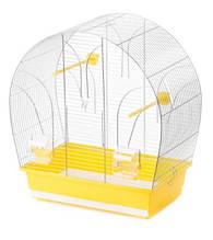 Клітка для папуг канарок амадин TINA Inter zoo (ИнтерЗоо) хром, 51*28*55 см