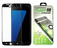 Защитное стекло Samsung G930 Galaxy S7|PowerPlant|Черный|На весь экран|