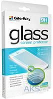 Защитное стекло Samsung G800 Galaxy S5 Mini ColorWay Углы закругленные 