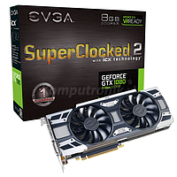 Видеокарта EVGA GeForce GTX 1080 SC2 GAMING 8GB GDDR5X VR Ready