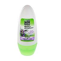 Фито-дезодорант женский Чистая линия  Защита от запаха и влаги  роликовый  50 мл