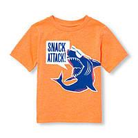 Оранжевая футболка 1-3 года