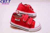 Детская спортивная обувь оптом. Детские кеды бренда СВТ.Т для девочек (рр с 25 по 30)