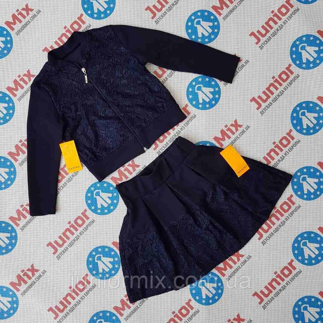 Школьный костюм на девочку пиджак и юбка MARTEX