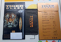 Защитное стекло Tiger Glass для APPLE  iPhone 6 Plus (0.3 мм, 3D белое) в комплекте с задней плёнкой