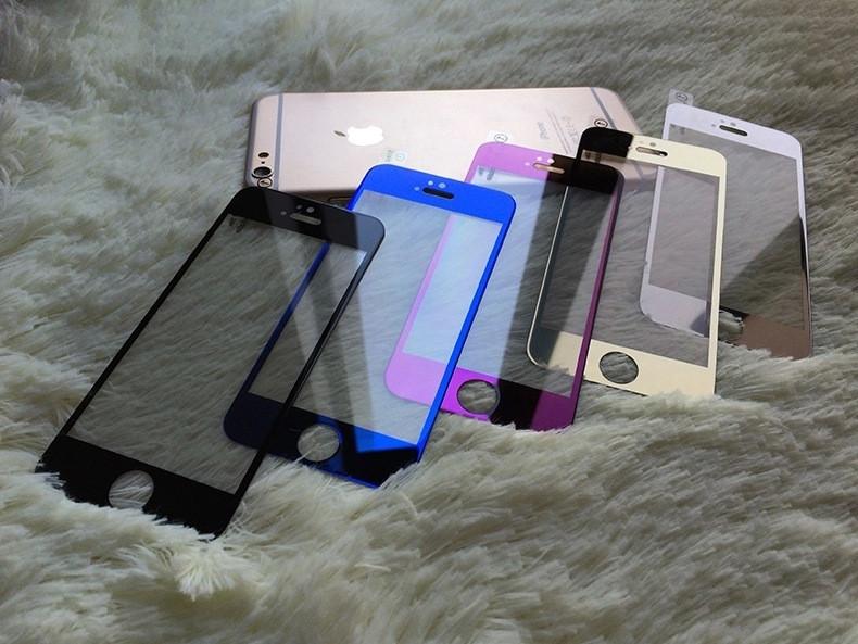 Защитное стекло для APPLE iPhone 6 Plu s (0.3 мм) розовое