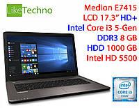 "Мощный ноутбук Lenovo E7415 17.3"" HD+ Core i3/8GB/1TB/Intel HD"