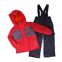 Зимний термокостюм для мальчика 5-7 лет (куртка и полукомбинезон), р. 110-122 ТМ Peluche&Tartine 63 EG M F16 Kimono