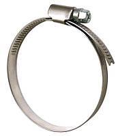 Хомут затяжной червячный 50-70 мм DIN 3017-1 нерж А2