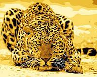 Картина по номерам Леопард притаился КНО305 Идейка