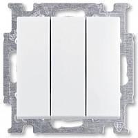 Выключатель 3 кл. ABB Basic 55 Белый