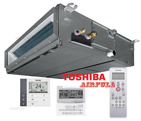 Сплит система канального типа Toshiba RAV-SM16*BT(P)-E/RAV-SM16*AT(P)-E/RBC-AMS41E, фото 2