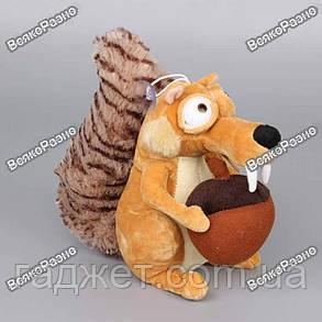 Мягкая игрушка Белка Скрат из Ледникового периода, 20 см, фото 2