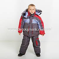 """Детский зимний комбинезон """"Даниил"""" (куртка + полукомбинезон) для мальчика,"""