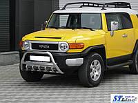 Защита переднего бампера (кенгурятник)  Toyota FJ Cruiser 2008+