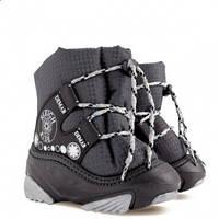 Зимові чобітки (зимние дутики) Demar Snow ride сірий