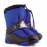 Зимові чобітки (зимние дутики) Demar Snowmen голубий