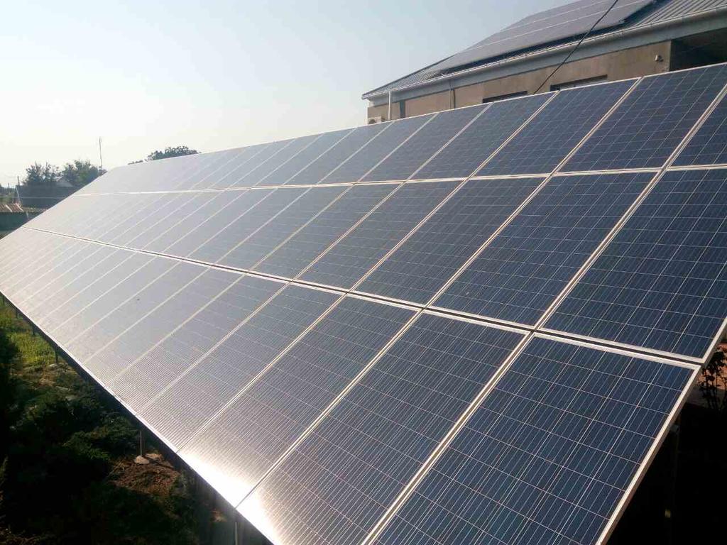 Овидиополь, Одесская обл., домашняя солнечная электростанция мощностью 30 кВт