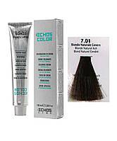 Краска для волос Echos Color 7/01 пепельный натуральный русый