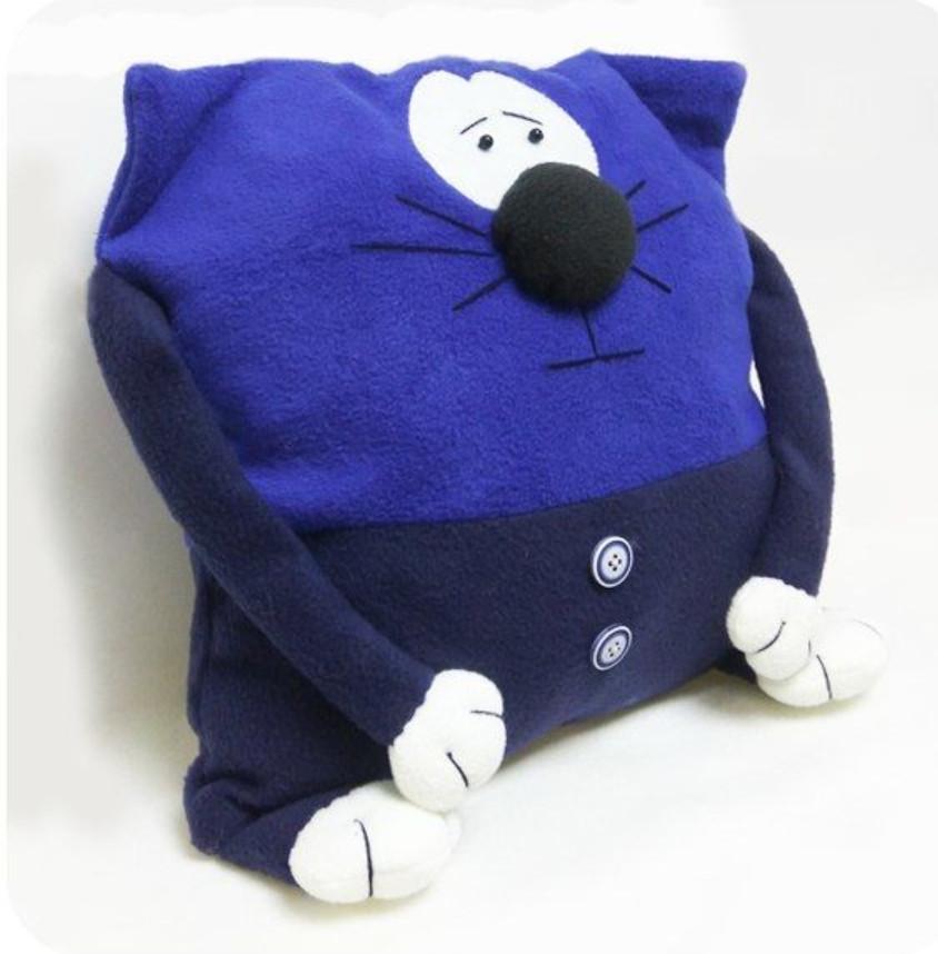 Мягкая игрушка- Подушка кот.