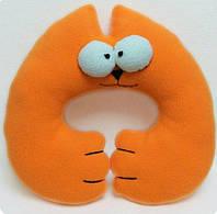 Подушка под голову кот Саймон.