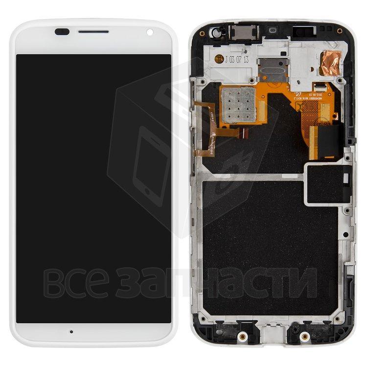 Дисплейный модуль для мобильного телефона Motorola XT1056 Moto X, белы