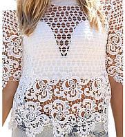 Блуза ажурная РМ7767