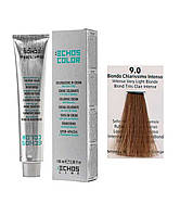 Краска для волос Echos Color 9/0 интенсивный светло-русый