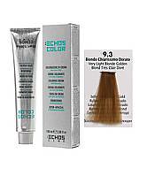 Краска для волос Echos Color 9/3 золотистый светлый блондин