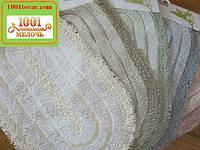 Набор ковриков из хлопка и микрофибры в ванную и туалет, 100х60 см. и 50х60 см., разный цвет