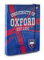 """Папка картонная для тетрадей  """"Oxford - Оксфорд"""" на резинке, ТМ """"YES"""""""