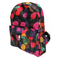 Рюкзак подростковый DSCN0592-S (0592-1) «Пузырьки»0592-S