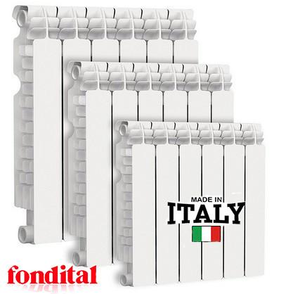 Биметаллические радиаторы Fondital - Италия
