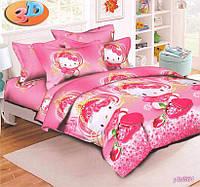 Комплект детского постельного белья КИТТИ,  ткань  ранфорс