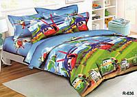 Комплект детского постельного белья ЛЕТАЧКИ, ткань  ранфорс