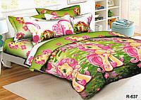 Комплект детского постельного белья Моя любимая ПОНИ,  ткань  ранфорс