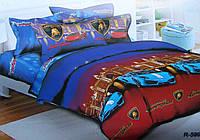 Комплект детского постельного белья ЛАМБОРДЖИНИ,  ткань  ранфорс