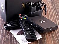 ТВ приставка Android TV Box X96 4-Ядра, Smart 4K Смарт Тв Бокс