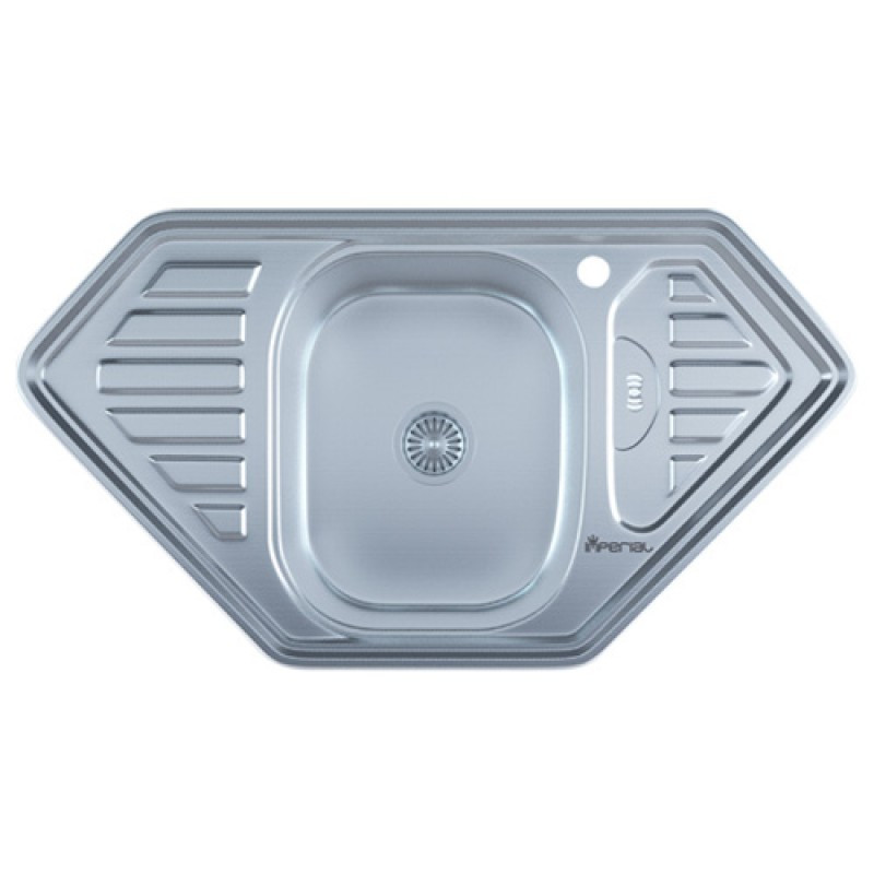Кухонная мойка нержавейка Imperial 9550-D Decor