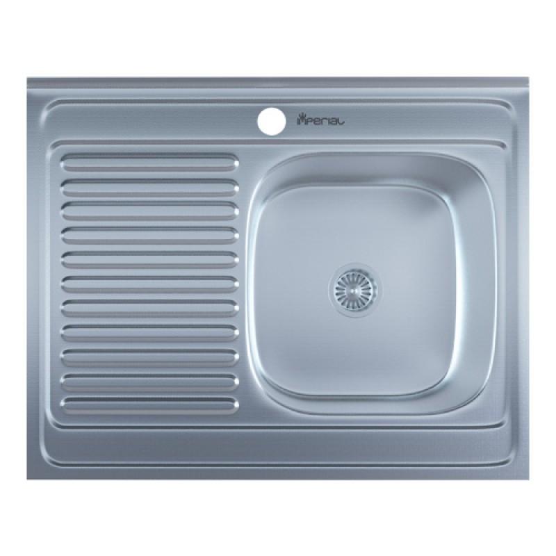 Кухонная мойка нержавейка Imperial 5080-R Decor