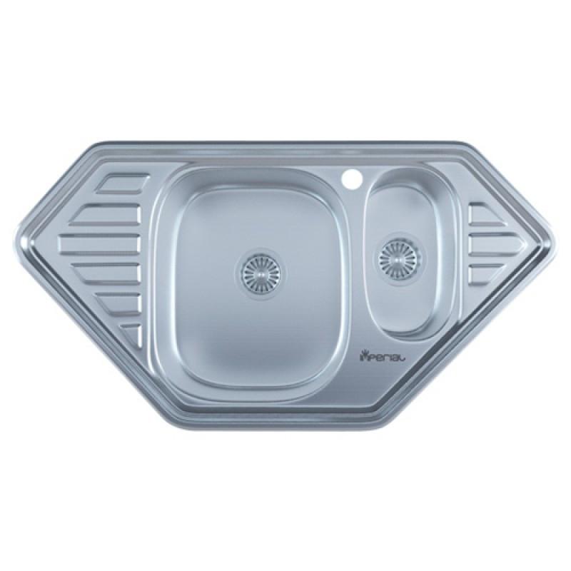 Кухонная мойка нержавейка Imperial 9550-С Decor