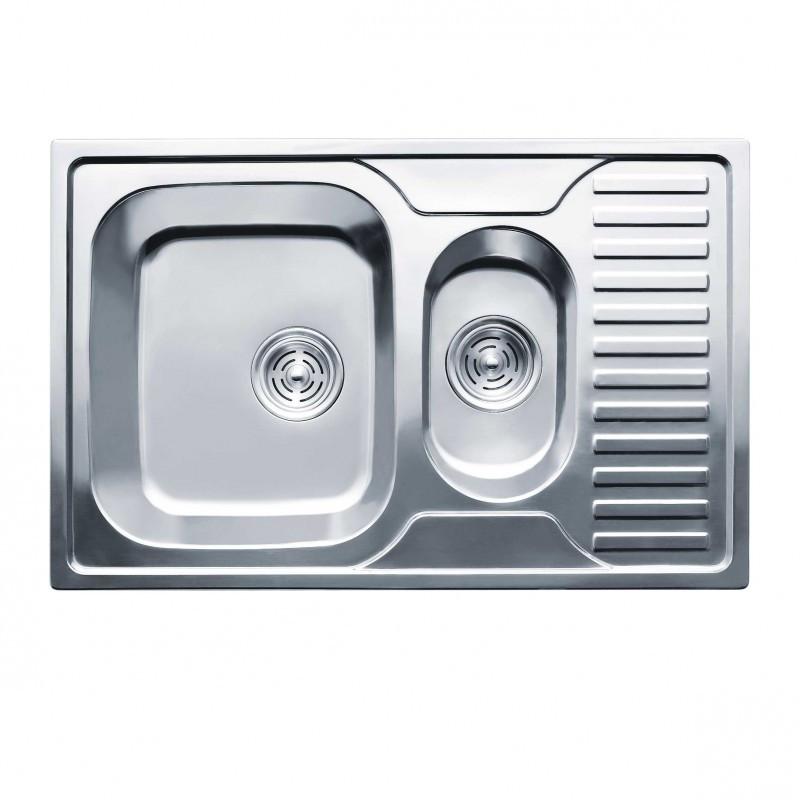 Кухонная мойка нержавейка Imperial 7850 Decor