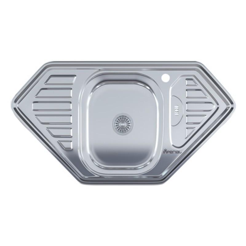 Кухонная мойка нержавейка Imperial 9550 D Polish
